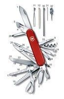Нож Victorinox SwissChamp Red 1.6795